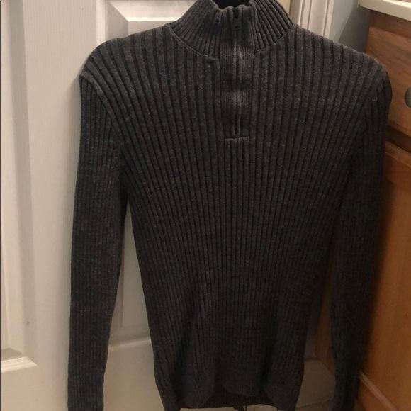 Express Other - Dark grey, dress sweater